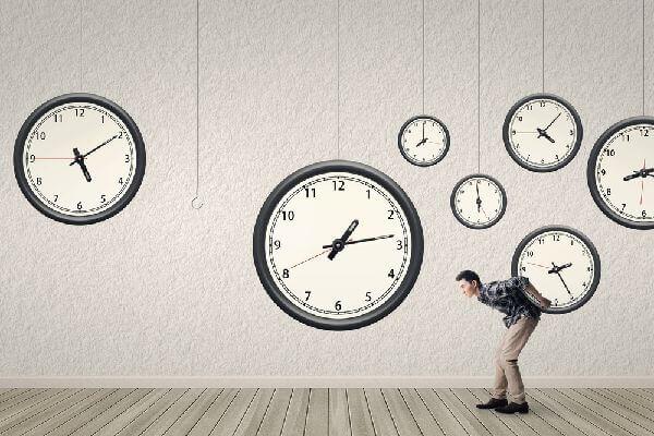 のしかかる時間の制約の画像